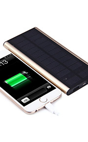 SUNWALK 6000mAh Solar Power Bank Charger with Charging Cable