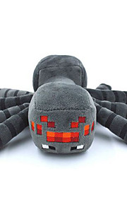 Muñecos de peluche - juguetes de peluche - Algodón - Negro - 16cm -