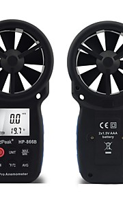 Digital Anemometer /Wind Speed Meter 0.3-30m/s with Back Light HP-866B