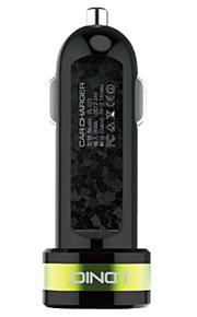 ldnio 2 Dual USB caricabatteria da auto per iPhone / Samsung e l'altro cellulare (5V 1A)