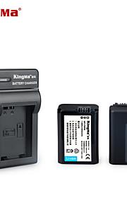 Kingma np-FW50 bateria da câmera carregador dc147 para sony A5000 a5100 a7r nex 6 7 5tl 5R 5n 3NL A6000 5c 5t 3n a7 nex6 nex7