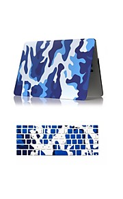 """2 in 1 Camouflage Design Matte Surface Hard Case Cover +Keyboard Cover for Macbook Air 11"""" Pro 13""""/15"""""""