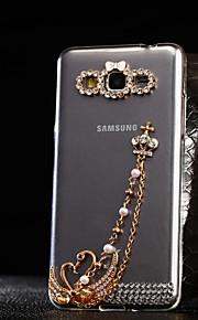 cisne patrón TPU caso suave para múltiples Samsung Galaxy G3608 / g530h / g850f / g5308