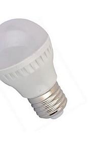 kloden lyspærer e26 / e27 5W smd2835 lm natur hvit ac 100-240 v