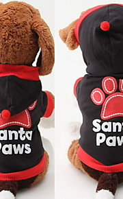 Dog Hoodies - XS / S / M / L - Spring/Fall - Red / Black - Waterproof / Fashion - Cotton