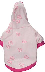 Hunde - Winter - Baumwolle - Wasserdicht / Modisch - Rosa - Kapuzenshirts - XS / S / M / L