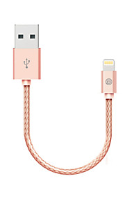 OPSO SC16 MFI Certified USB Cable 0.15M for iPhone 7 6s 6 Plus SE 5s 5c 5, iPhone 5/5s/5c, iPad Data Charger Cable