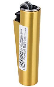 clipper mode cigaret genopfyldning butangas metal udskiftelige tank-lightere