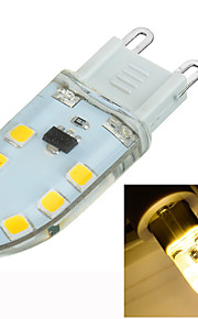 1 stk. Marsing G9 3W 14 SMD 2835 200-300 lm Varm hvit Innfelt retropassform Dimbar / Dekorativ LED-lamper med G-sokkel AC 220-240 V