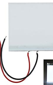 5*5*0.2cm DIY White Light LED Backlight Light Guide Panel LGP for Arduino Raspberry Pi - White