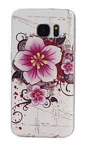 cassa del telefono materiale modello TPU fiori per il bordo / s7 Samsung Galaxy s7