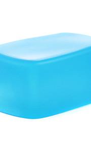 novo silício a3 flexível flash reflectido softbox difusor branco + amarelo + azul para Nikon SB900 / sb910 mk-910
