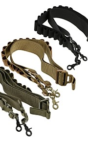 LS1642 Tactical High quality Nylon Heavy Duty Shotgun straps 15 Round Ammunition bandolier belt 20GA and 12 GA