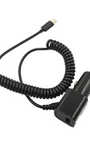 cwxuan® primavera USB 3.1 di tipo-c 5v 2a cavo auto