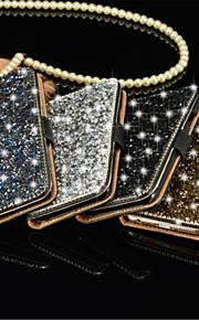 Per Samsung Galaxy S7 Edge Porta-carte di credito / Con diamantini / Con supporto / Con chiusura magnetica Custodia Integrale Custodia