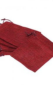 5pcs - Stof - Smykketasker