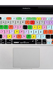 XSKN Final Cut Pro 7 Silicone Laptop Keyboard Cover Skin for Macbook Air 13 inch, Macbook Pro 13 15 17 Inch, US Layout