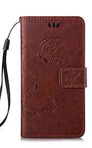 PU Leather Material Embossing Holster for iPhone 5/5S (Assorted Colors)