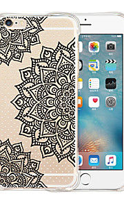 Mandala's Capital Soft Transparent Silicone Back Case for iPhone 6/6S (Assorted Colors)