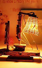creatieve hout licht zeilen lamp decoratie bureaulamp slaapkamer lamp cadeau voor kind