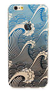 """lyden av bølger malt mønster hard plast tilbake bukt for iphone6plus / 6splus 5,5 """""""