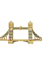 londyńskim Tower Bridge drewniane puzzle 3d zabawki do majsterkowania