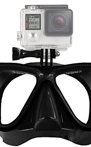 Mutli-Function Diving Mask Ventilate Mask with Locking Mount for Gopro Hero 4S/4/3+/3/2/1 Xiaoyi B model