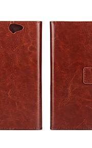HTC 하나 A9에 대한 자석 스냅 및 카드와 고급 지갑 스타일 PU 가죽 플립 케이스 (모듬 색상)