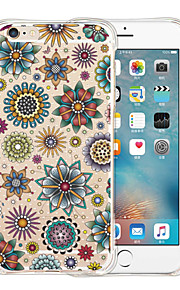 King Of Mandala Soft Transparent Silicone Back Case for iPhone 6/6S (Assorted Colors)