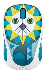 oprindelige logitech M238 play indsamlingen sød dyr serie usb 2,4 g trådløs optisk mus for desktop bærbar computer