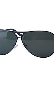 Solbriller mænd's Klassisk / Mode Pilotbriller Sort / Grå Solbriller / Kørsel Full-Rim