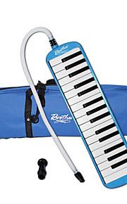 mundharmonika abs blå / pink musik legetøj