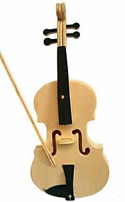 drewniane skrzypce 3d puzzle zabawki do majsterkowania