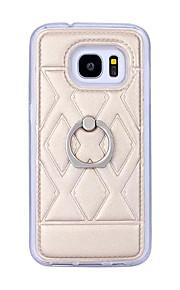 cassa del telefono Samsung Galaxy S7 telefono scatola del movimento anello Samsung S7 bordo TPU all-inclusive per la galassia S7 / s7