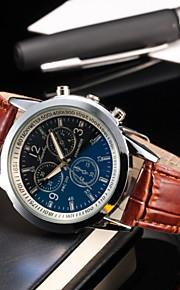 moda pulso negócios de blu-ray dos homens relógios pulseira de couro