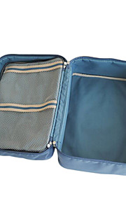 Travel Packing Organizer / Inflated Mat Travel Storage Fabric Grey / Blue / Green / Red