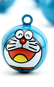 Doraemon Cartoon Pure Copper Pet Pendant Bell(1 PCS 3cm)