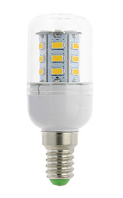 1 st E14 / G9 / GU10 / B22 / E12 / E26 / E26/E27 3W 24 SMD 5730 300 lm Varmvit / Kallvit T LED-lampa AC 85-265 V