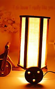 creatieve hout de romantische driewieler herstellen van oude manieren container decoratie bureaulamp slaapkamer lamp cadeau voor kind