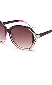 Solbriller kvinder's Elegant / Mode Øjenbrunslinje Sort / Brun / Pink / Rød / Lilla Solbriller Full-Rim