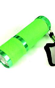 Green fluorescent white light flashlight (3XAAA)