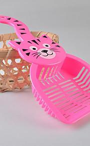 Lovely Cat Pet Food Shovel(Random Color)
