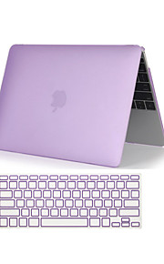 "2 i en krystallklar soft-touch full body sak med tastatur deksel for MacBook Air 11 ""/ 13"" (assorterte farger)"