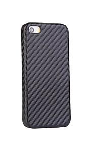 PC + PU 아이폰에 대한 남자의 스타일 탄소 섬유 패턴 전화 케이스 (6) / 기가 / 6 플러스 / 6S 플러스