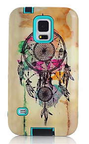 Cartoon Soft TPU Silicone Transparent Phone Case For Samsung Galaxy S5 Wind Chimes Printed Plastic Protective Cover