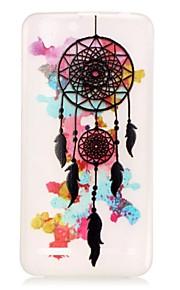 farverige vindspil lysende drøm catcher mønster sofe TPU Taske til lenovo k5 / k4 note