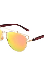 Solbriller kvinder's Klassisk Anti-reflekterende Trekkingbriller Guld Solbriller Full-Rim