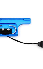 TELESIN Aluminum Alloy Back Door Clip Safety Lock for GoPro Hero 3+/4 Dive Skeleton Housing