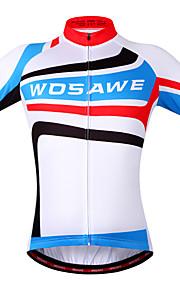 WOSAWE Summer Short Sleeve Bicycle Cycling Jersey Quick Dry Anti-sweat Sportswear Ropa Ciclismo Cycling Shirts