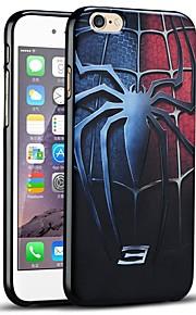 3d preget super helten beskyttende bakdekselet myk apple iphone case for iphone 6s / iphone 6
